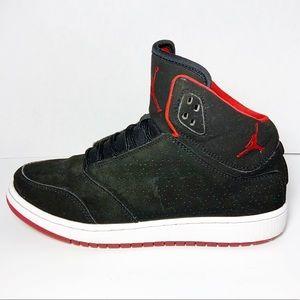 NIKE Jordan 1 Flight 5 Premium BG Black Red 6.5Y